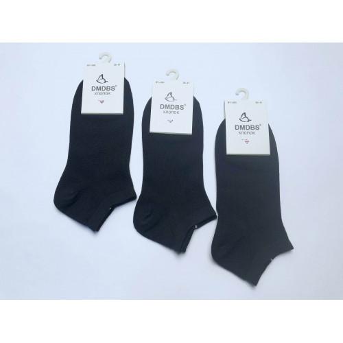 Носки женские Dmdbs короткие черные BY-050