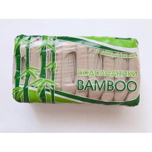 Капроновые женские следики отличного качества бамбук BAMBOO